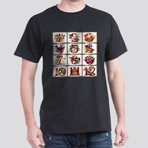 12 Days Of Christmas T-Shirt